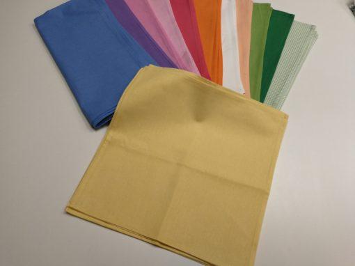 Текстилни салфетки за маса - жълто
