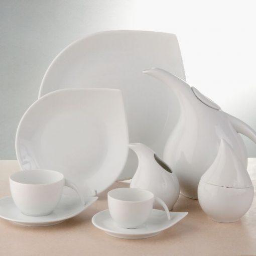 Сервиз за храненe drop white – 20 части