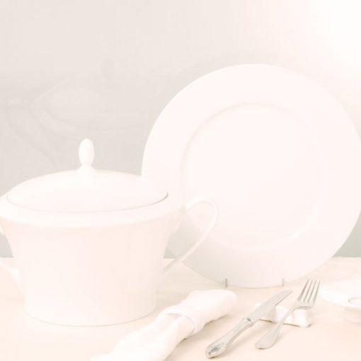 Сервиз за хранене Suzana White - 20 части