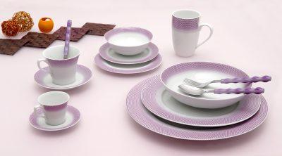 Сервиз за хранене bonito purple – 20 части