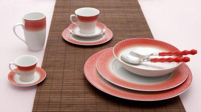Сервиз за хранене bonito red – 20 части