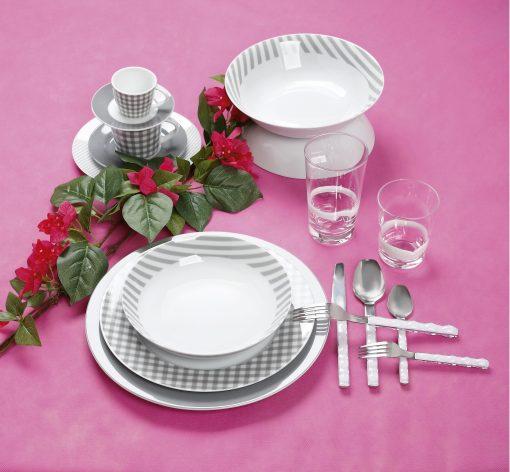 Сервиз за хранене fino grey – 20 части