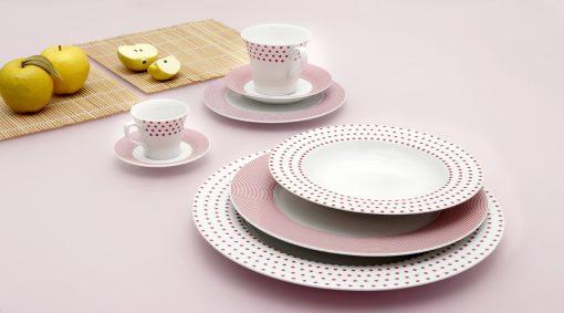 Сервиз за хранене matrix pink – 20 части