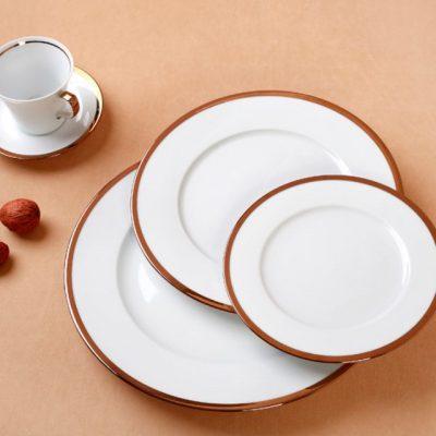 Сервиз за хранене rosegold – 20 части