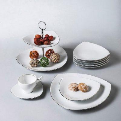 Сервиз за хранене tric platin – 20 части