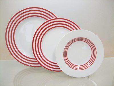 Сервиз за хранене viva red – 20 части