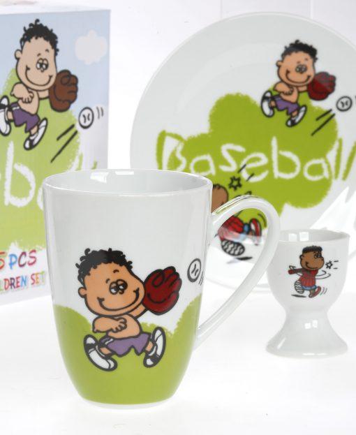 baseball color box set 5pcs