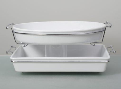 bake form rectangular 42cm stainless steel