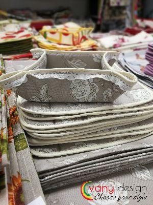 Панер за хляб - Бяла Роза Vany Design