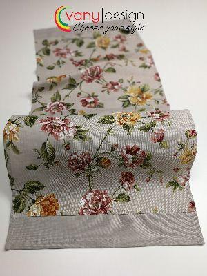 Тишлайфер за маса с декоративен бордюр Цветя 01 - Vany Design