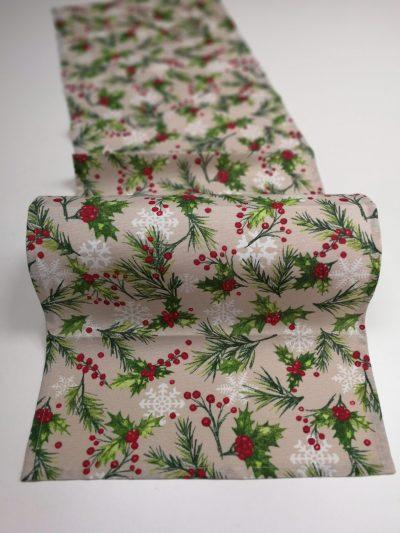 Кръгла покривка за маса – Коледна серия Коледен Дух – vany design