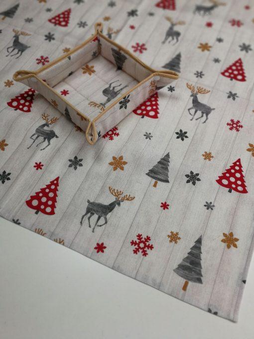 Покривка за маса – Коледна серия Елени – vany design