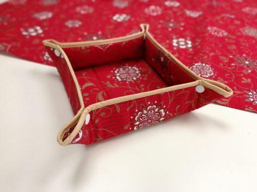 Кръгла покривка за маса – Коледна серия Коледен Уют – vany design