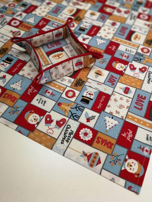 Покривка за маса - Коледна серия  Merry Christmas - Vany Design