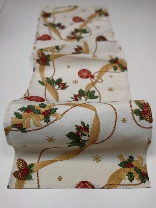 Кръгла покривка за маса – Коледна Камбанка vany design