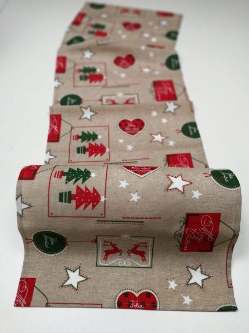 Кръгла покривка за маса – Коледа vany design