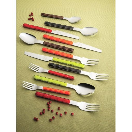 NUOVO - комплект прибори за хранене - 30 части - Черно - Vany Design