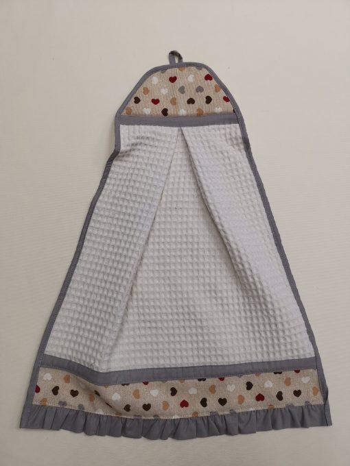"""Кърпа за ръце """"Кокетка"""" - Сърца Vany Design"""