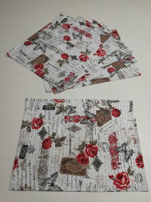 Подложка за маса 32/42 см - Винтидж Рози Vany Design