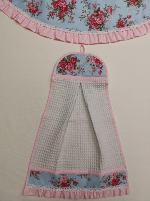 """Кърпа за ръце """"Кокетка"""" - Английско Цвете Vany Design"""