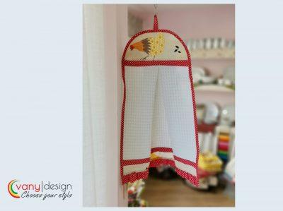 """Кърпа за ръце """"Кокетка"""" – Кокошки vany design"""