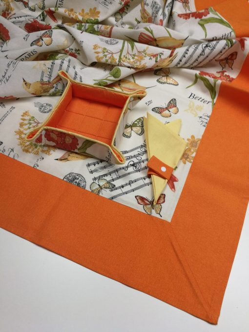Кръгла покривка за маса Великден – Пролет vany design