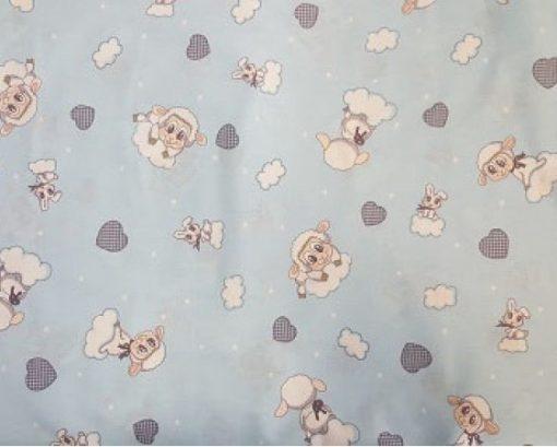 бебешко синьа основа със сладка офца 554 800x450