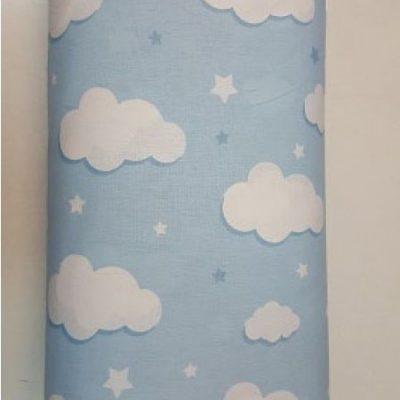 бебешко синьа основа с облаци 414 800x450