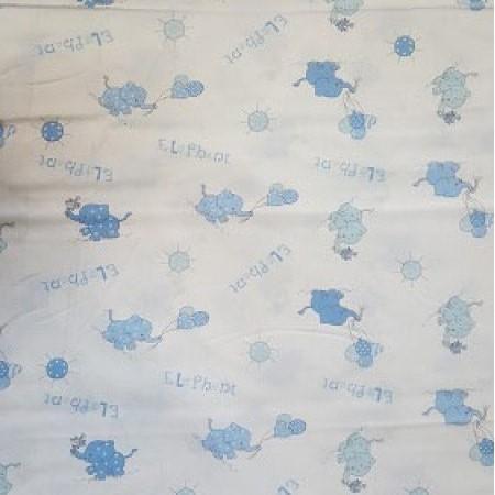 бяла основа със сини слончета с балони 525 800x450