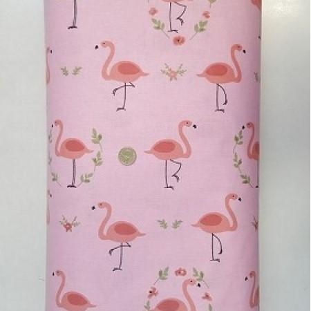 Десен 57 – Розово Фламинго 100% Памук Ранфорс