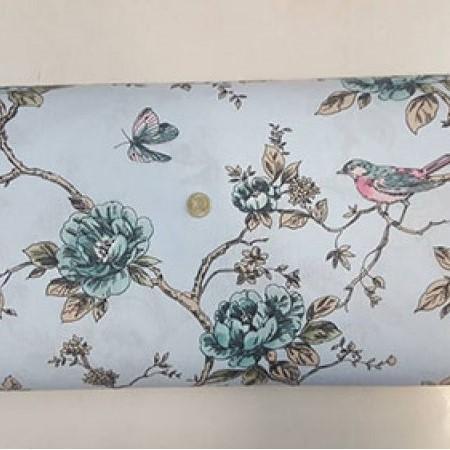 Десен 60 – Врабче и Цветя плат с хидрофобирано покритие
