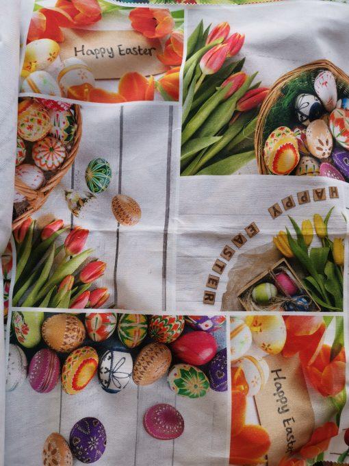 Квадратна Покривка за маса Великден – Яйца 2 vany design