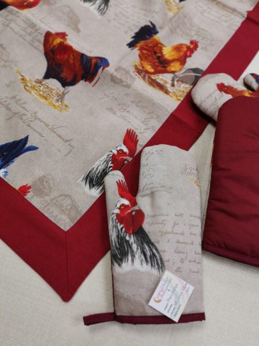 Кръгла покривка за маса Петел Vany Design