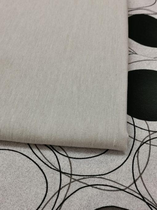 Покривка за маса Пролет Модел 1 - Капри Сив Vany Design