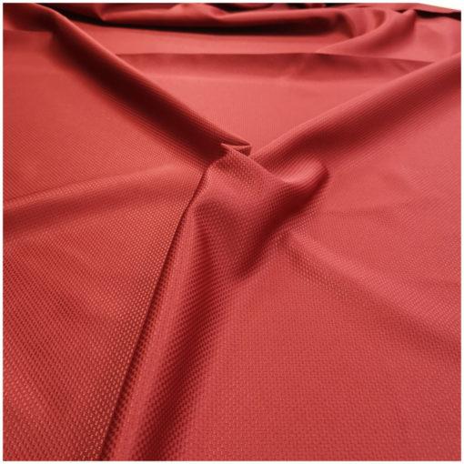 Правоъгълна покривка за маса 130/160 цвят Червено 100% полиестер