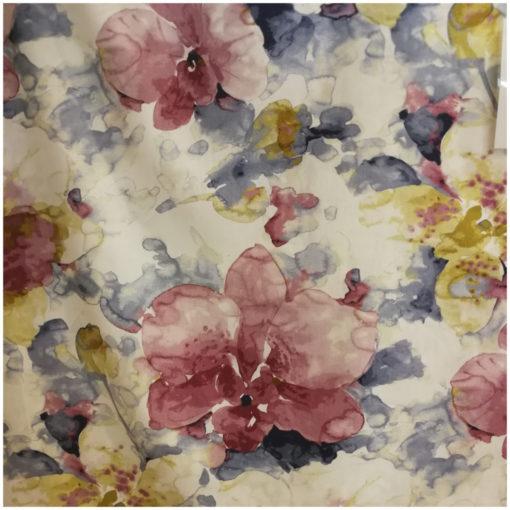 Луксозна покривка за маса 100% памук 140/240 - Цветя
