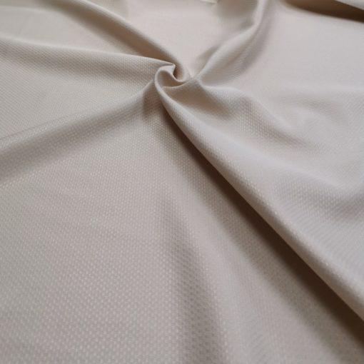 Правоъгълна покривка за маса 130/160 цвят Екрю 100% полиестер