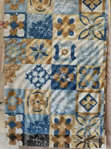 loneta tiles azul