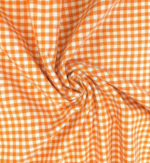 Покривка за маса Оранжев пепит 130 Ширина до 270 дължина