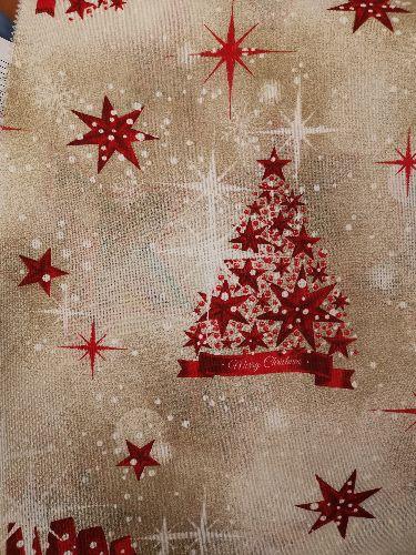Тишлайфер за маса Коледни елхи