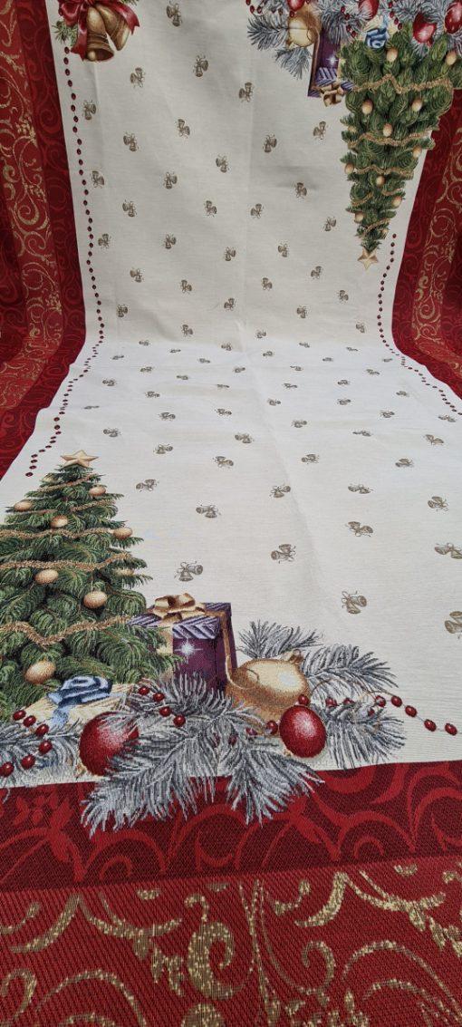 Коледна Арт колекция - Покривка за маса 140/180 - Коледно дърво