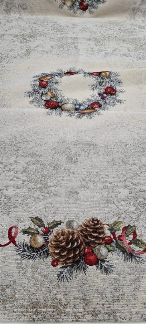 Коледна Арт колекция покривки за маса 140/240 - Снежна приказка