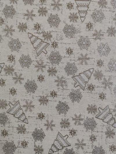 тишлайфер за маса елхички и снежинки
