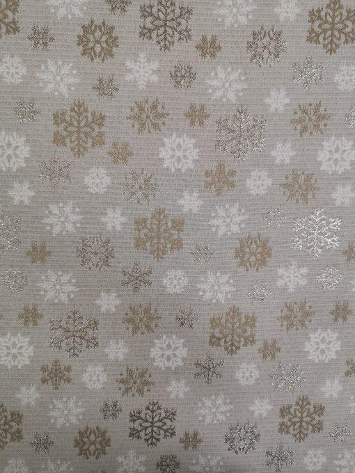 Панер за хляб Коледни снежинки жакард
