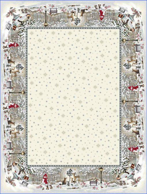 Коледна Арт колекция покривки за маса 140/240 - Снежна приказка 01