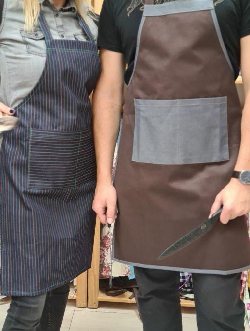 Мъжки-дамски-престилки-за-готвене