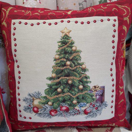 декоративна възглавница Коледно дърво
