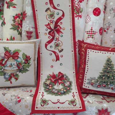 Коледен тишлайфер за маса - Коледен венец от Вани Дизайн
