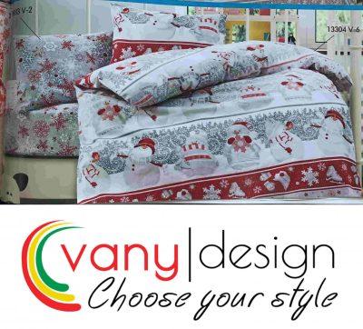 Спален комплект 100% памук - коледни десени - Vany Design 10