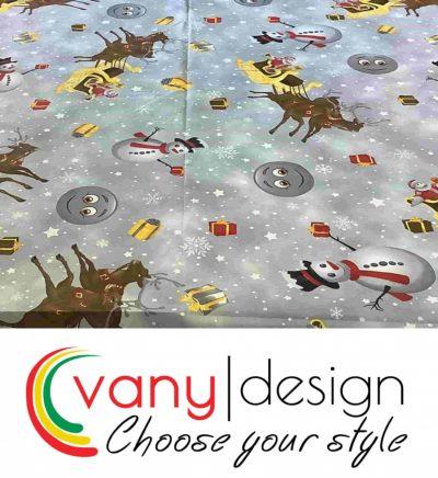 Спален комплект 100% памук - коледни десени - Vany Design 5
